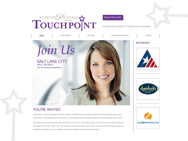 Startup Princess Touchpoint