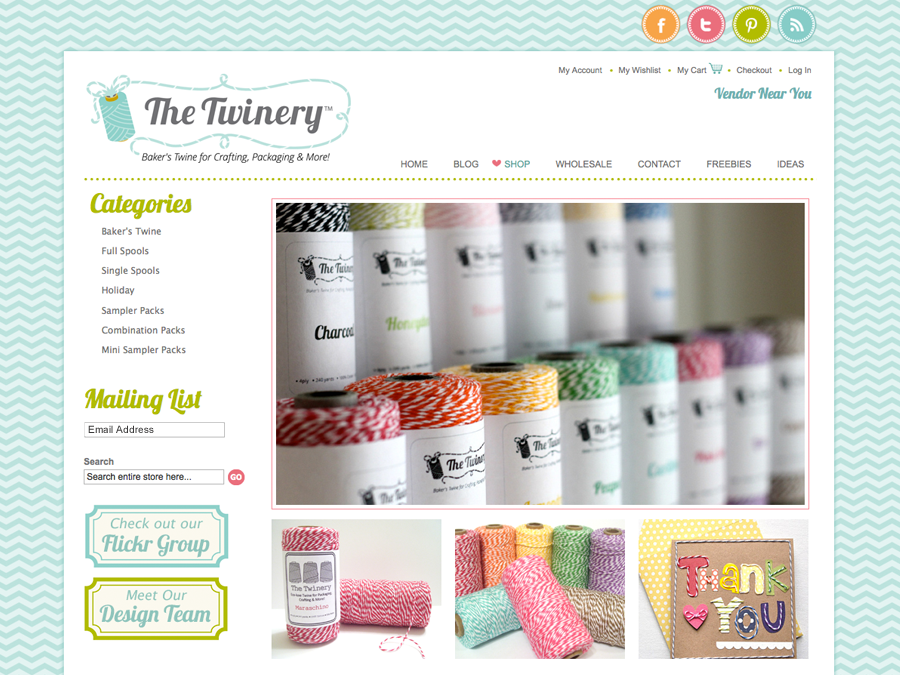 Custom Wordpress Ecommerce Design Services: The Twinery