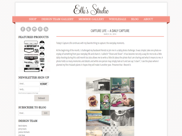 Pretty Blog Design