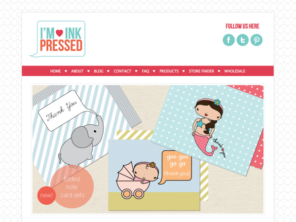 Modern Wordpress Design: I'm Inkpressed