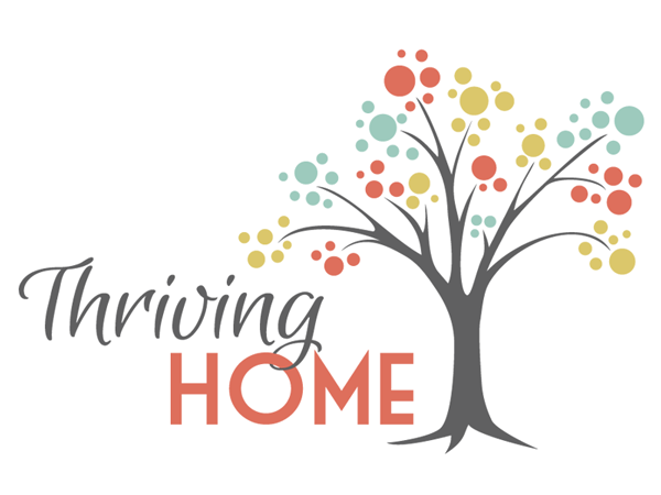 cute-custom-logo-thriving-home-blog