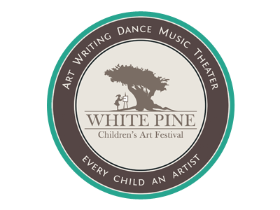 Classical Logo Design: White Pine Children\'s Art Festival