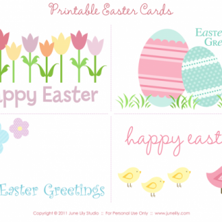 Free printable easter cards for teens