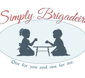 Cute Custom Logo Design: Simply Brigadeiro