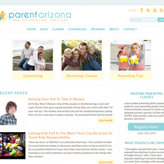 parent-arizona-pretty-custom-website-blog-design-wordpress